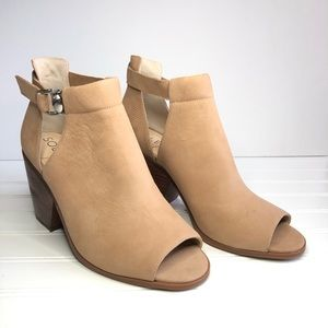 Sole Society NWOB Caprica Peep Toe Sandal~Size 10